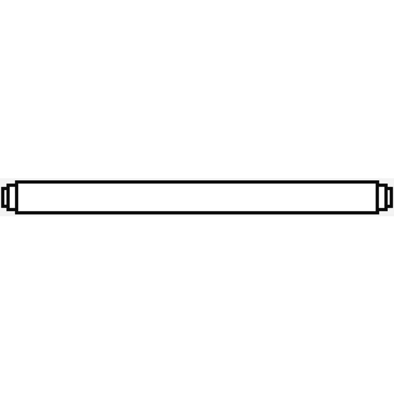 Image of Flexibles INOX-Wellrohr 1' mit Wärmedämmung 1130 mm (hocheffiziente Wärmedämmung) - Weishaupt