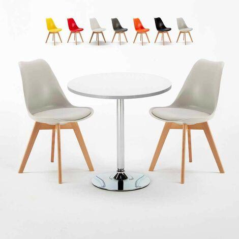 Holz tisch mit 4 Stühlen natürliche Holzfarbe NATURAL PINE