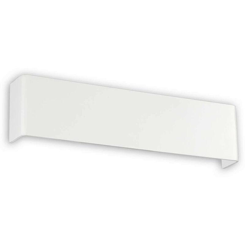 01-ideal Lux - Weiße BRIGHT Wandleuchte 84 Glühbirnen