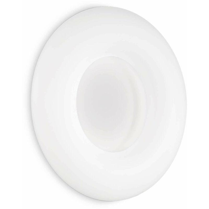 Weiße Deckenleuchte POLO 220 Glühbirnen