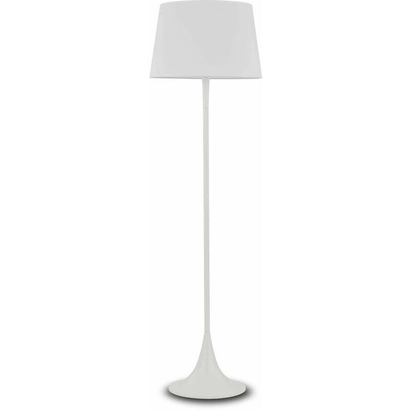 Weiße LONDON Stehleuchte 1 Glühbirne - 01-IDEAL LUX