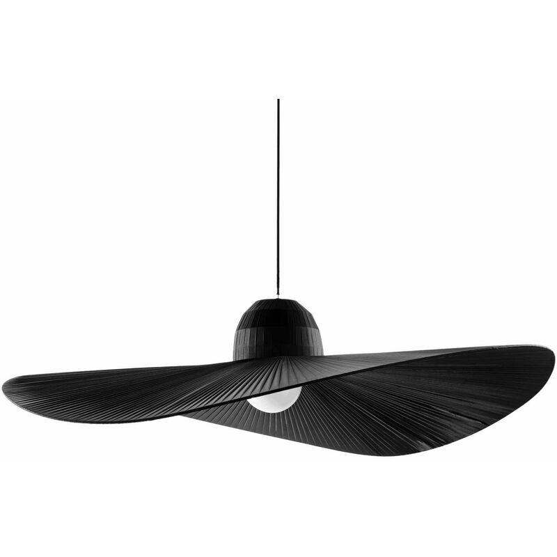 01-ideal Lux - Schwarze MADAME Pendelleuchte 1 Glühbirne