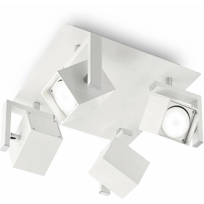 Weiße Maus Deckenleuchte 4 Glühbirnen