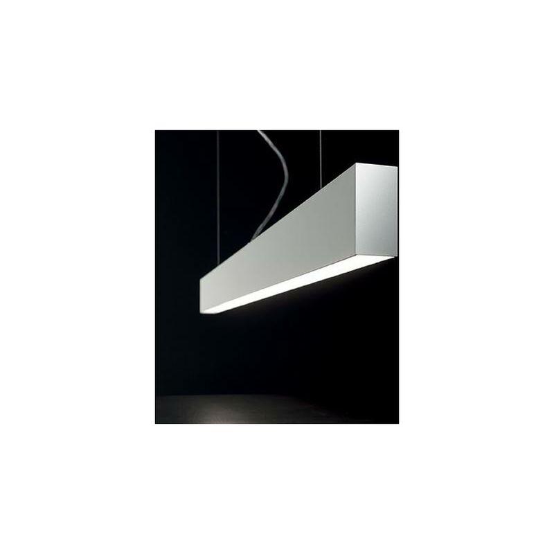 01-ideal Lux - Weiße Pendelleuchte CLUB 168 Glühbirnen