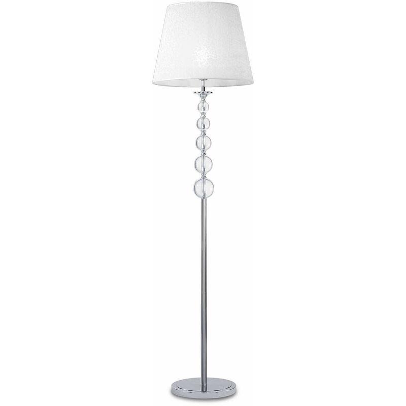 Weiße STEP Stehleuchte 1 Glühbirne - 01-IDEAL LUX