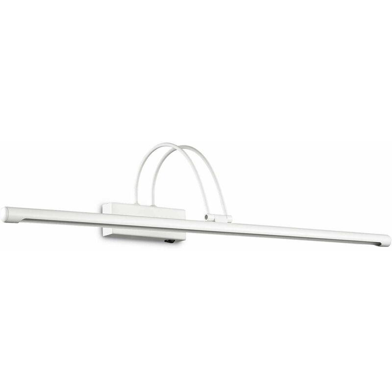 01-ideal Lux - Weiße Wandleuchte BOW 114 Glühbirnen