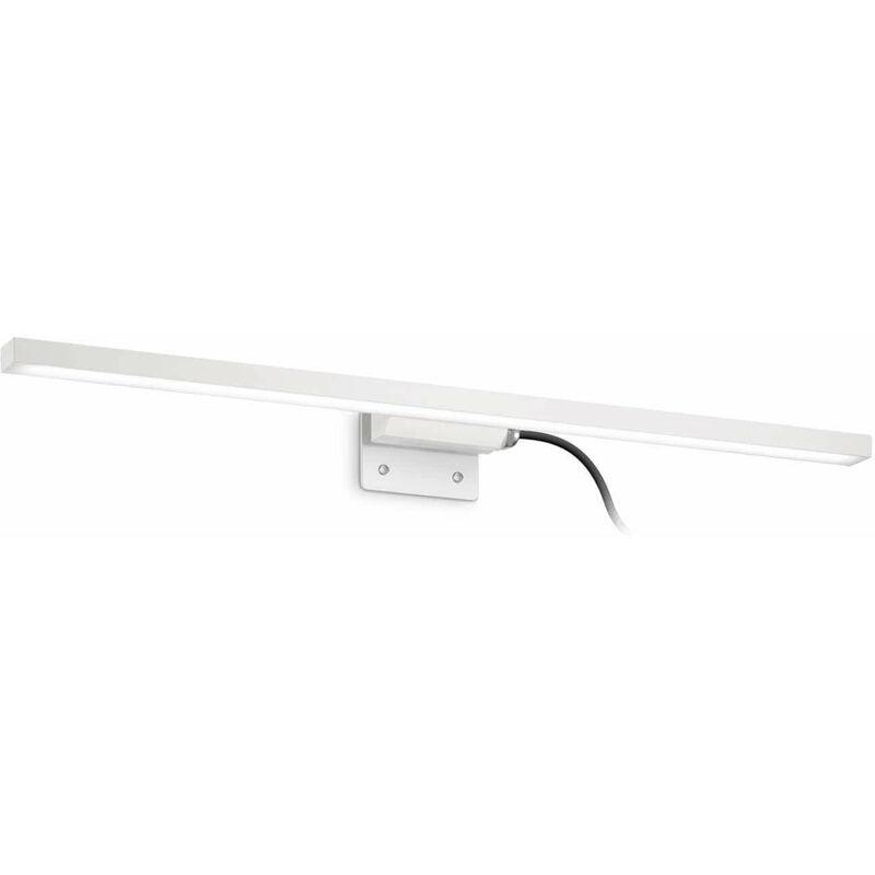 01-ideal Lux - Weiße Wandleuchte EDGAR 49 Glühbirnen