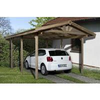 Weka Carport 611 kdi Satteldach 340x500cm