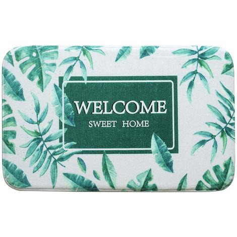 WELCOME Print Non-Slip Doormat Welcome Floor Mats Carpet