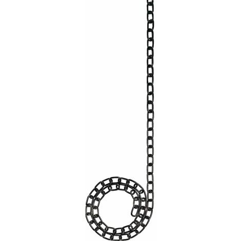Welded Straight Link Chain - Solid Brass Oval