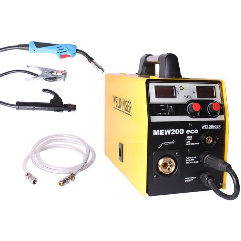 WELDINGER MEW 200 eco MIG/MAG-Schweißinverter Inverter Schutzgasschweißgerät