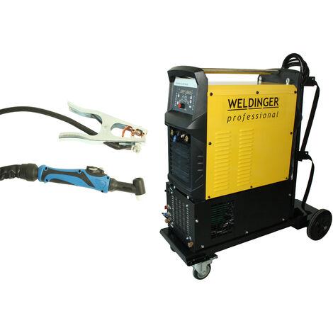 WELDINGER WIG-Schweißinverter WE 400P AC/DC pro wassergekühlt