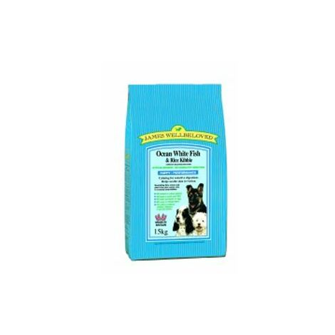 Wellbeloved Ocean White Fish and Rice Puppy 15kg - 18705