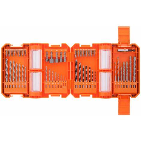WellCut WC-DB51U Drill & Screwdriver Bit Set with 51 Pieces