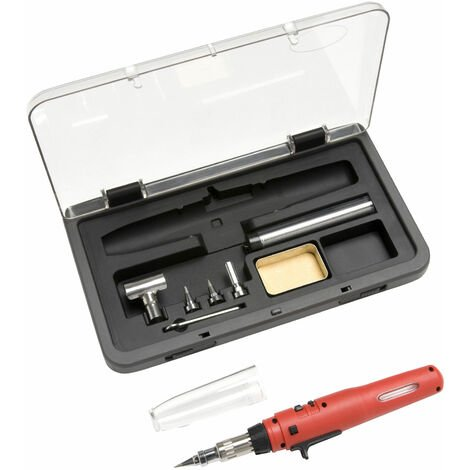 Weller WP3EU Piezo Butane Gas Soldering Set