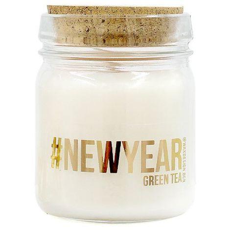 Wellindal Bougie aromatique Thé vert #Newyear