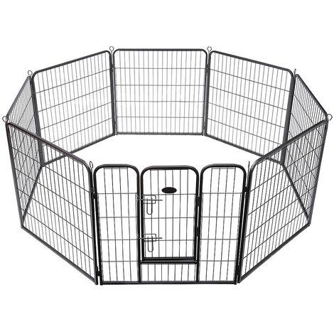 Welpenauslauf Tierlaufstall Freigehege Hund Laufstall Welpenzaun Welpenlaufstall