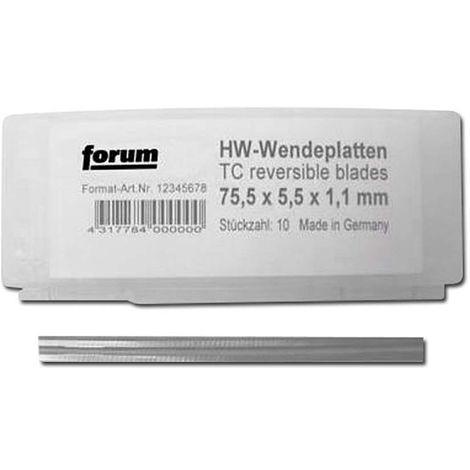 Wendeplatte HW - für Elektrische Handhobelmaschinen - für AEG: HTH 75