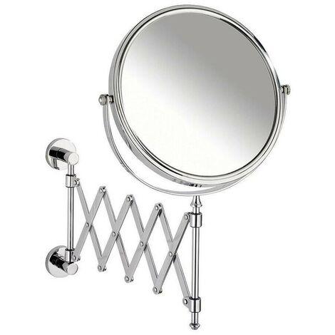 WENKO - 17818 - Power-Loc Espejo cosmética telescópico Elegance