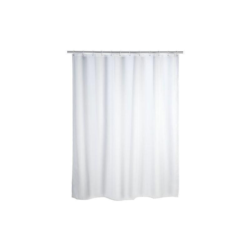 Foglie Gialle, 180 x 200 cm JRing Tenda da Doccia in Tessuto Resistente alla Muffa e Impermeabile con 12 Anelli Bianchi