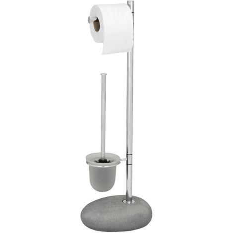 Distributore di Carta igienica in Acciaio Inossidabile PrimeMatik Porta Rotolo Industriale per Il Bagno