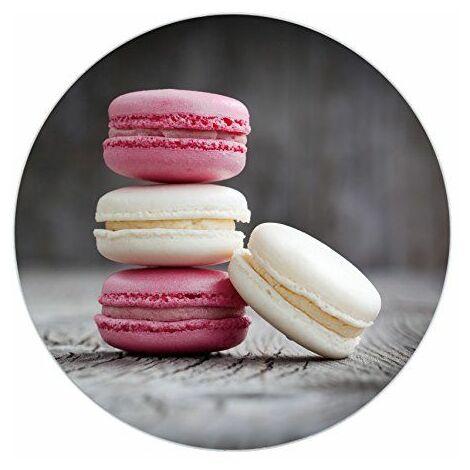 WENKO 53970100 Dessous-de-plat Macaron, Verre trempé, Ø 20 cm