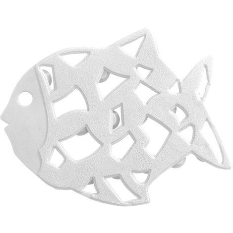 Wenko Anti Rutsch Sticker Fisch6 er Set, weiß -