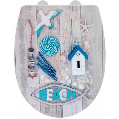 Wenko Beach Soft Closing Toilet Seat