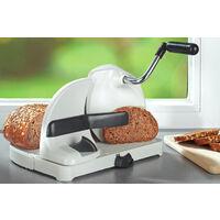 WENKO Brotschneidemaschine, mit Handkurbel Brotmaschine Schneidemaschine Brotschneider