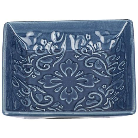 Wenko Cordoba Blue Ceramic Soap Dish