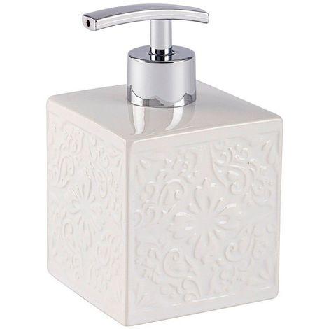 Wenko Cordoba White Ceramic Soap Dispenser