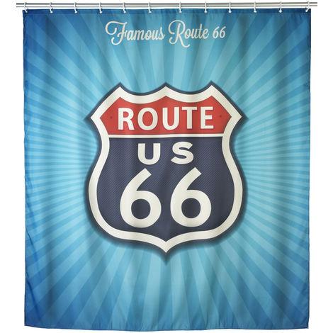 Wenko Duschvorhang - Motiv: Route 66