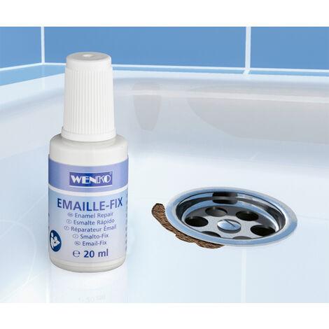 WENKO Emaille-Fix Lack Emaille-Reparatur Emaille-Reparatur-Set Lackschaden Lack
