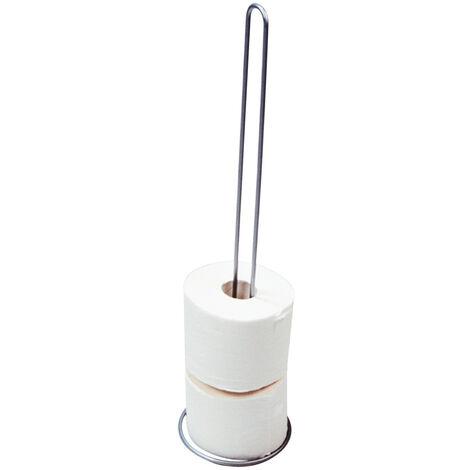 Wenko Ersatzrollenhalter schwarz Toilettenpapierhalter WC Rollenhalter Klopapier