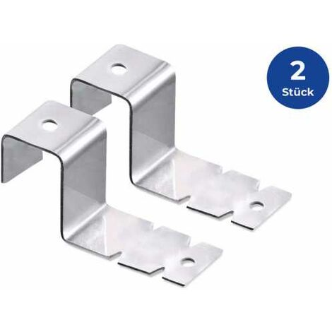 WENKO Fensterhaken, 2er Set Fensterhaken für Deko Fensterhaken zum Einhängen - 4214074500