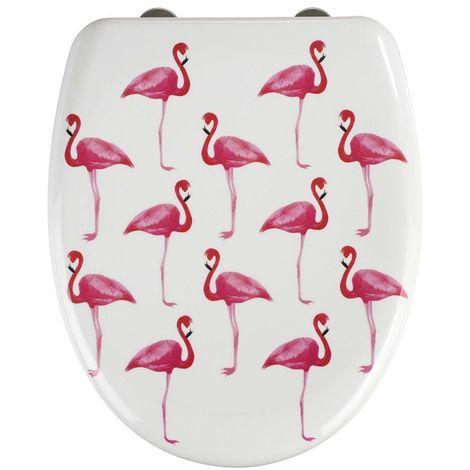Wenko Flamingo Soft Closing Toilet Seat