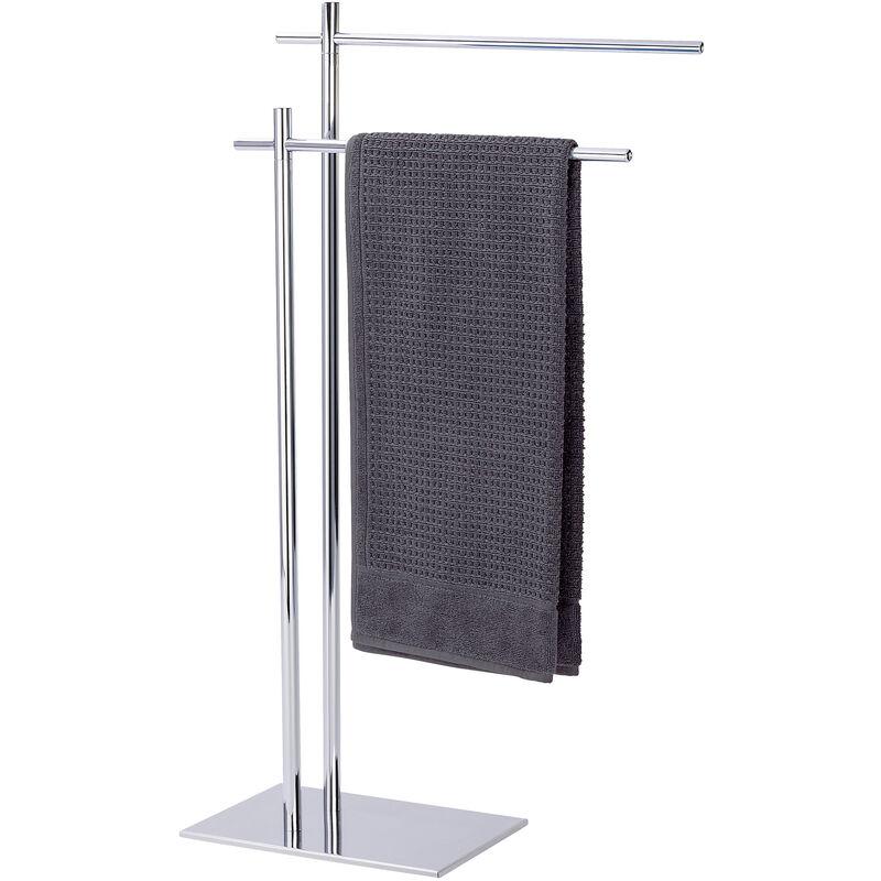 WENKO Handtuchständer Kleiderständer Handtuchhalter Bad