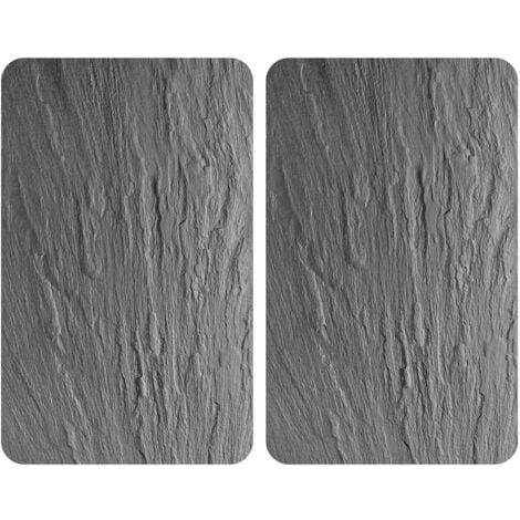 Wenko Plaques de cuisson anti-projections de cuisson - ensemble de 2 - 30 x 52 cm