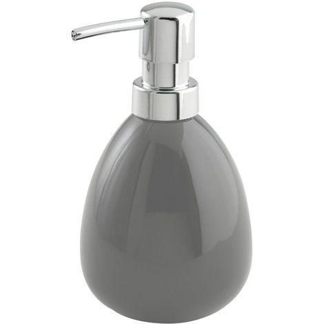 Wenko Polaris Ceramic Soap Dispenser - Grey