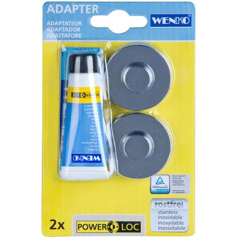 WENKO Power-Loc® Adapter Premium/Classic powerlochalter klebsystembefestigung