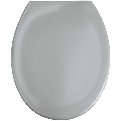 WENKO Premium WC-Sitz Ottana Dunkelgrau Klodeckel Toilettenbrille