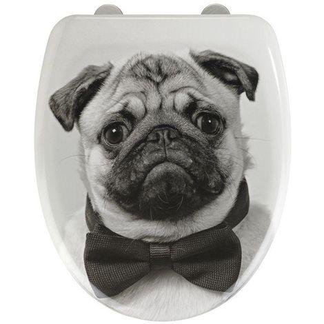 Wenko Pug Soft Closing Toilet Seat