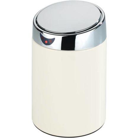 Wenko Seau de table et de cosmétique Senso, blanc