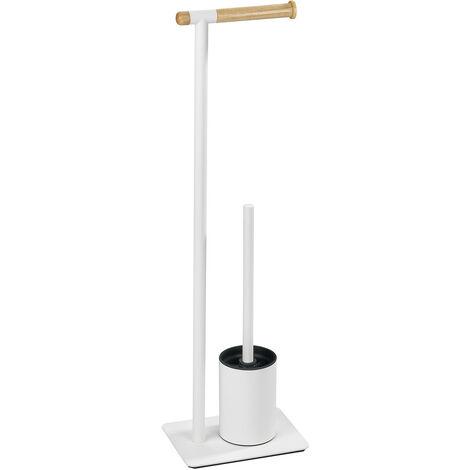 WENKO Stand Toilettenbürste Macao Klobürste WC-Ständer Standgarnitur WC-bürste