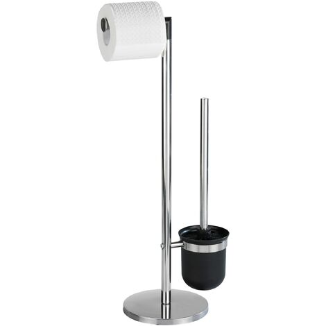 WENKO Stand Toilettenbürste Parus Toilettenbürstenhalter Toilette Klobürste WC-Ständer