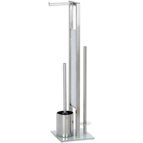WENKO Stand Toilettenbürste Rivalta Matt inklusive Ersatzbürste