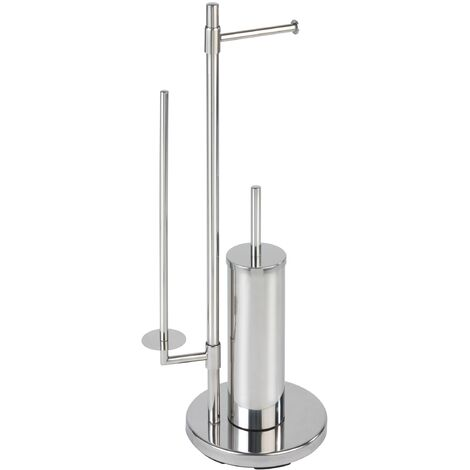 WENKO Stand Toilettenbürste Universalo Neo Toilettenbürstenhalter Toilette Klobürste