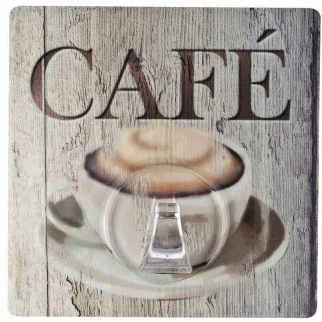 WENKO Static-Loc® Wandhaken Uno Café Haken Badezimmer Haken ...