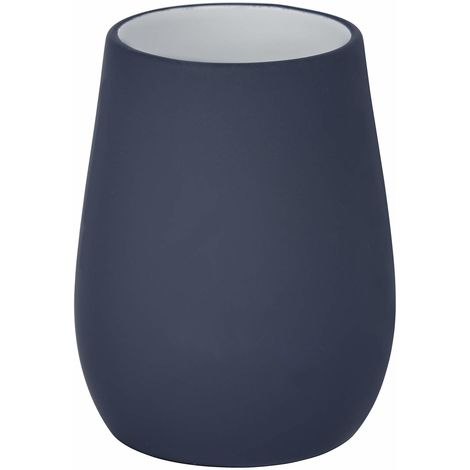 Wenko Sydney Matt Finish Ceramic Tumbler - Dark Blue
