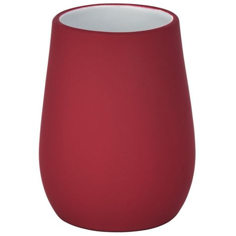 Wenko Sydney Matt Finish Ceramic Tumbler - Red